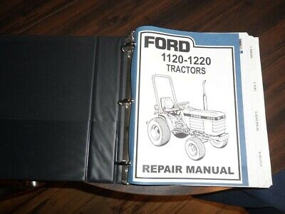 Ford New Holland 1120 -1220 Tractor Service Shop Repair Manual