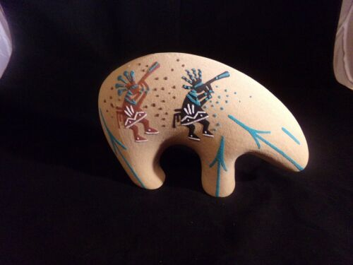 Native American Sand Art Pottery