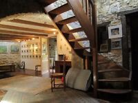 Pretty 3 bed traditional stone built detached property in the Lot, France, with 5 acres of land