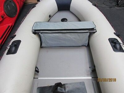 New Inflatable boat Seat Bag dinghy rib tender storage padded topper honwave YAM