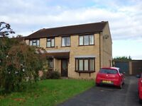 Three Bed Semi-detached House TO LET on Beaufort Close, Glebe Park, Lincoln, LN2 4SF