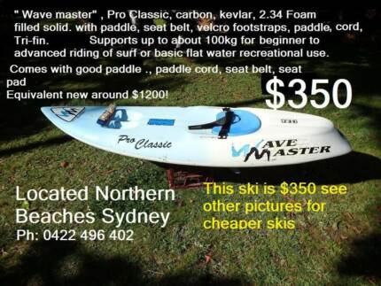 Surf Ski Wave Ski Paddle Recreational Ski kayak alternative