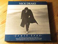Nick Drake - Fruit Tree 4 × CD Box Set - Rare & Collectable!