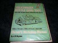 VW Beetle 1300/1500 original Haynes manual see description and images