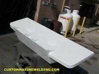 Double Outboard Engine Bracket With Platform (Please See Description)
