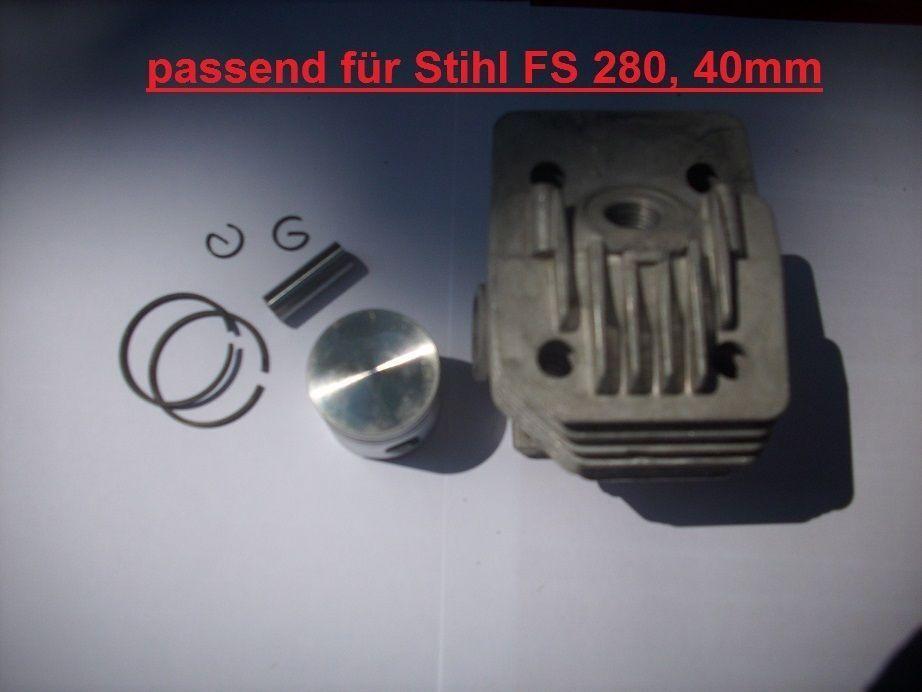 34mm von Stihl  Motorsensen Freischneider Zylinderkit für FS85 Astsägen