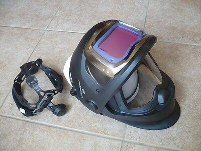 3m Speedglas 9100xx Fx Darkening Helmet Whardhat Headband Hornell Speedglass