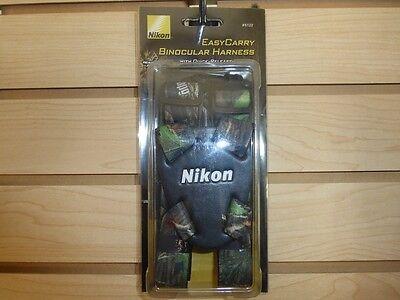 New Nikon Easy Carry Binocular Strap Harness Realtree APG Camo 6122