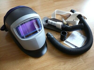 3m Speedglas 9002x Welding Helmet W Vortex Cooling Assembly Speedglass