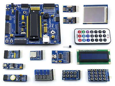 Pic Board Mcu Pic16f Pic16f877a Pic Development Board Lcd Module Kits