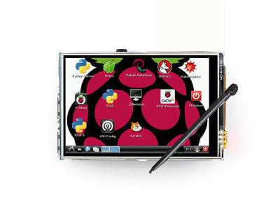 3.5 Lcd Touch Screen Display Module Board For Raspberry Pi Ab B 2b 3b Zero