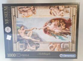 Clementoni Michelangelo: The Creation of Man - 1000 Piece Jigsaw