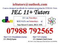 IEL Tutors for 11+ Specialists for CEM Tests