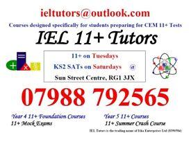 IEL Tutors for CEM 11+