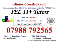 IEL Tutors for CEM 11+