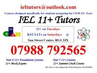 IEL Tutors, specialists for CEM 11+ Exams