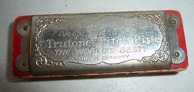 VINTAGE TRUTONE PITCH PIPE  M. HOHNERS NO.P4 OLD STYLE THE BEST