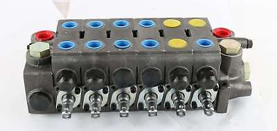 New V20-3809-c Parker Gresen Six Spool Hydraulic Valve