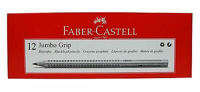Faber-Castell Jumbo Grip Graphite Pencil Box Of 12 Jumbo Grip Pencils