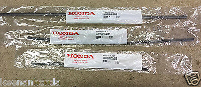 Honda Odyssey Wiper (Genuine OEM Honda Odyssey Front & Rear Wiper Rubber Insert Set Inserts)