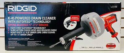 Ridgid 35473 K-45af Sink Drain Cleaning Machine