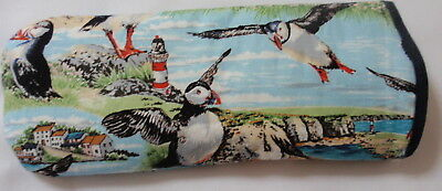 PUFFINS  GLASSES CASE -   ideal small gift