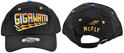 Back To The Future Marty McFly Gigawatts 80s Movie Strapback Hat Dad (Marty Mcfly Dad Back To The Future)