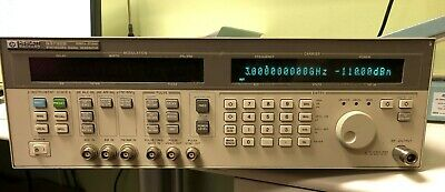 Hp 83732b Synthesized Signal Generator Options 1e1 1e8 - 10mhz To 20ghz