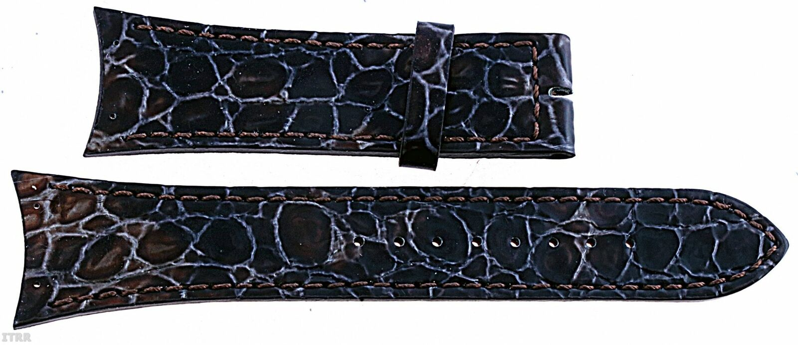 Boccia Original Lederband Armband für Uhr Modell 3161-03