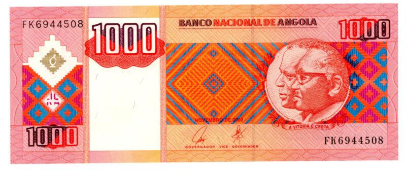 Angola … P-150a … 1000 Kwanzas … 2003 … *UNC*