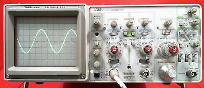 Tektronix 2235 Anusm-488 100 Mhz Oscilloscope Snb082650