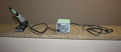 Weller Soldering Station Pu120t Iron Tc201t Stand - Tested Good