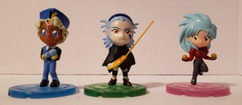 Tenchi Muyo Headliners Seriesc3, lot of 3 figures, rare, used