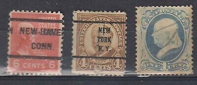 ancien timbres états-unis us usa america amerique