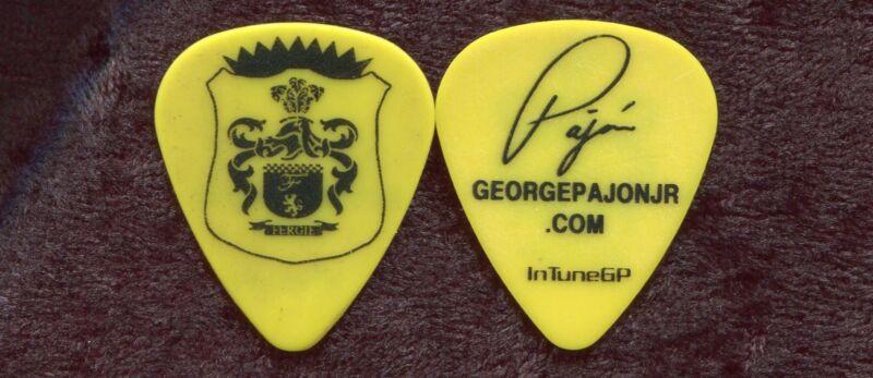 BLACK EYED PEAS Concert Tour Guitar Pick!!! FERGIE custom stage Pick