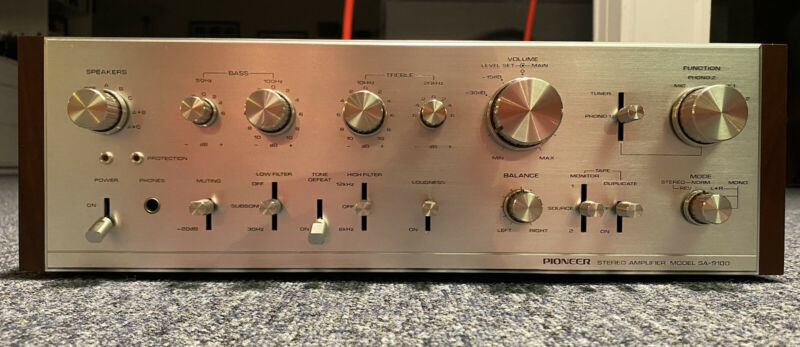 Pioneer SA-9100 Integrated Amp Vintage Restored
