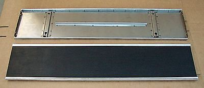1928 1929 Model A Ford Car Running Boards Rubber & Stainless Trim Coupe Sedan