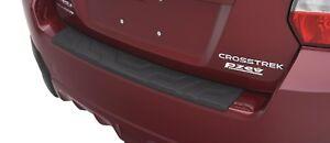 13-17 Subaru XV Crosstrek Rear Bumper Cover Protector Step Plate E771SFJ401 OEM