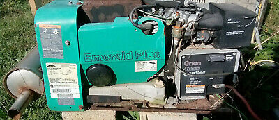 Onan Emerald Plus Genset 4000 Watt Rv Generator 4 Kw Gas