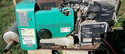 Onan Emerald Plus Genset 4000 Watt Rv Generator 4 Kw Gas