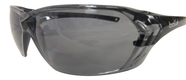 Bolle Safety Glasses Prism Goggles Smoke Tint Lens Anti-Scratch 99% UVA/B Cycle