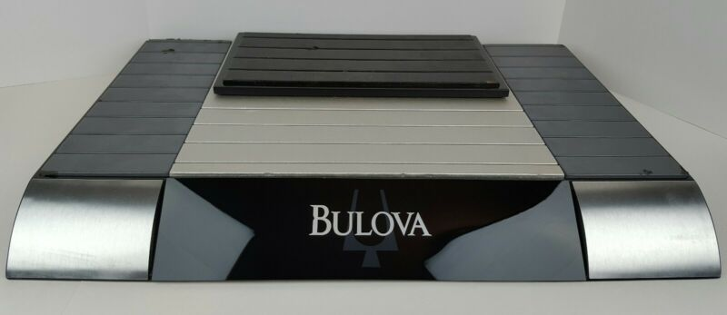 """Bulova Watches Retail Store Counter Display Advertisement 24"""" x 16"""" Man Cave"""