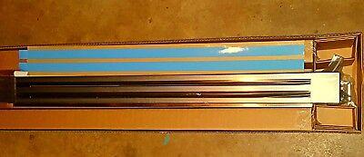 Genuine Viking Designer French door side x side refrigerator grille DFRGKLB ()