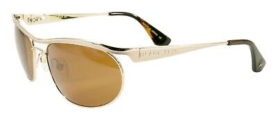 NEW Black Flys Sunglasses FIRE FLY 3 SHINY GOLD POLARIZED Brown LENS LIMITED - Fire Flys
