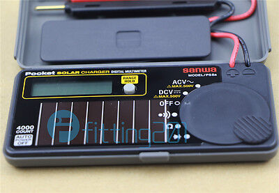 New Sanwa Ps8a Solar Battery Pocket Size Multimeter Dmm 0.7