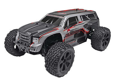 Redcat Racing Blackout XTE 1/10 Electric Monster Truck SUV Silver 1:10 RC Car