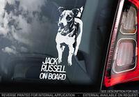 Jack Russel Terrier - Adesivo Finestrino Auto - Cane Insegna -v01 -  - ebay.it