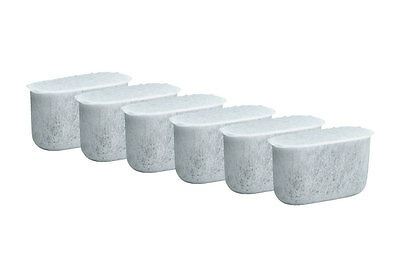 6 Pack Charcoal Water Filters, Fits Cuisinart Coffee Makers DCC-1200, -