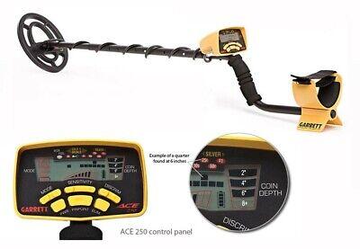 - Garrett Refurbished ACE 250 Metal Detector