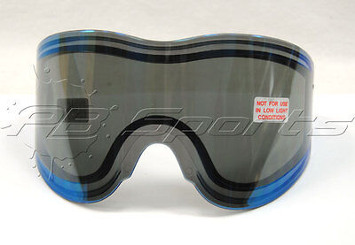 Empire Vents Mirror - Empire Vents Antifog replacement Thermal Lens - Blue Mirror tinted for paintball